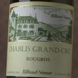 Billaud Simon Chablis Grand Cru Bougros 2015