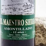 El Maestro Sierra Amontillado 12 Años