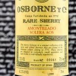Osborne Amontillado Solera Aos