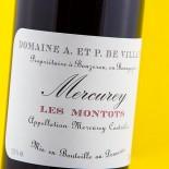 Domaine A. Et P. De Villaine Mercurey Les Montots 2016