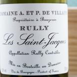 Domaine A. Et P. De Villaine Rully Les Saint-Jacques 2016