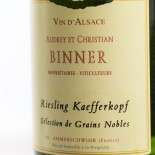 Binner Riesling Kaefferkopf Sélection Grains Nobles