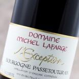Michel Lafarge L'Exception Bourgogne Passetoutgrain 2012