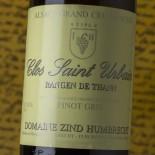 Zind Humbrecht Pinot Gris Rangen De Thann Clos Saint Urbain Grand Cru 2015