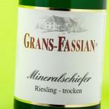 Grans Fassian Mineralschiefer Riesling Trocken 2012