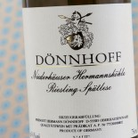 Dönnhoff Hermannshöhle Riesling Spã¤tlese 2015