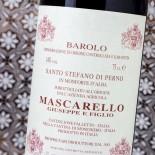 Giuseppe Mascarello Barolo Santo Stefano Di Perno 2013