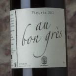 Guignier Fleurie Au Bon Grès 2013