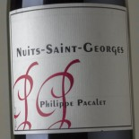 Philippe Pacalet Nuits-Saint-Georges 2013