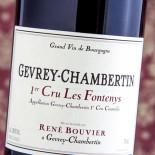 René Bouvier Gevrey-Chambertin 1er Cru Les Fontenys 2011