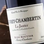 René Bouvier Gevrey-Chambertin La Justice 2015