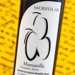 Sacristía Ab Manzanilla 2º Saca 2016 - 37,5 Cl
