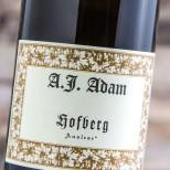 A.J. Adam Hofberg Riesling Auslese 2016