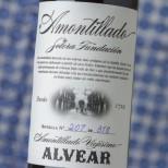 Alvear Amontillado Solera Fundación -37,5cl.