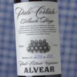 Alvear Palo Cortado Viejísimo Abuelo Diego -37,5cl.