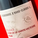 Les Amis Vignerons D'Anne Claude L. Massif de la Sainte-Victoire Syrah 2009