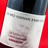 Les Amis Vignerons D'Anne Claude L. Pays Cathare Grenache 2009