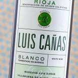 Luis Cañas Blanco Fermentado En Barrica 2017