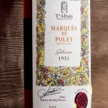 Marqués De Poley Amontillado Selección 1951