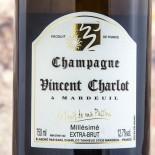 Vincent Charlot Le Fruit De Ma Passion Extra Brut