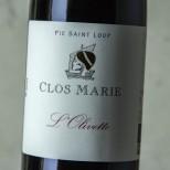 Clos Marie Pic Saint Loup L'Olivette 2018