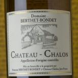 Berthet Bondet Château Chalon 1992 -62cl.