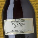 Berthet Bondet Vin de Paille 2015 -37,5cl.