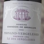 Chandon De Briailles Pernand-Vergelesses 1er Cru Ã?le Des Vergelesses 2014