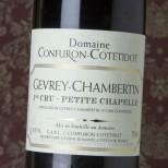 Confuron-Contetidot Gevrey-Chambertin Petite Chapelle 2015