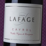 Domaine Lafage Côtes Catalanes Cayrol 2017