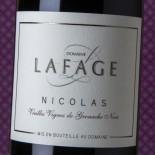 Domaine Lafage Côtes Catalanes Cuvée Nicolas 2017