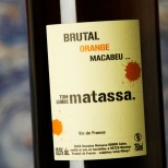 Matassa Brutal Orange Macabeu 2018