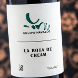 La Bota de Cream 38. Bota NO - 37,5 cl.