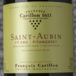 François Carillon Saint-Aubin 1er Cru Pitangeret 2016