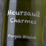 François Mikulski Meursault 1er Cru Charmes 2013