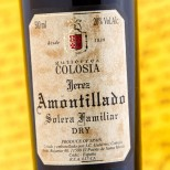 Colosia Amontillado Solera Familiar - 50 cl.