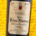 Colosia Pedro Ximénez Solera Familiar - 50 cl.