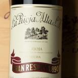 La Rioja Alta Gran Reserva 890 1989