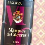 Marqués de Cáceres Reserva 2012
