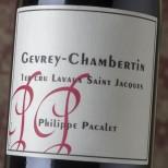 Philippe Pacalet Gevrey-Chambertin 1er Cru Lavaux Saint Jacques 2015