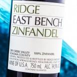 Ridge East Bench Zinfandel 2016