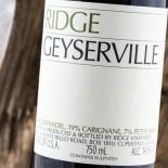Ridge Geyserville 2017