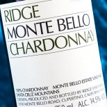 Ridge Monte Bello Chardonnay 2013