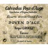 Roger Groult Calvados Doyen D'Ã?ge
