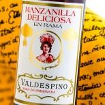 Valdespino Manzanilla Deliciosa en Rama -37,5cl.