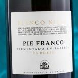 Blanco Nieva Pie Franco Fermentado en Barrica Verdejo 2018