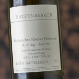 Ratzenberger Bacharacher Kloster Fürstental Riesling Auslese 1992 - 50 cl.