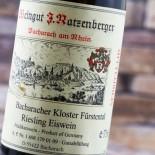 Ratzenberger Bacharacher Kloster Fürstental Riesling Eiswein 37 Cl